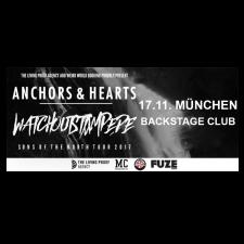 ANCHORS & HEARTS '17.11.2017' München Ticket