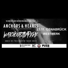 ANCHORS & HEARTS '23.11.2017' Osnabrück Ticket