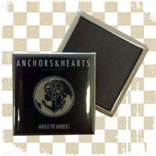 ANCHORS & HEARTS 'Across the Borders' Magnet
