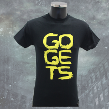 THE GOGETS 'Logo' T-Shirt schwarz