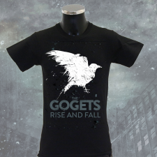 THE GOGETS 'Rise And Fall' T-Shirt schwarz