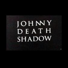 JOHNNY DEATHSHADOW 'Schriftzug' Aufnäher klein