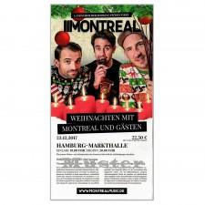 MONTREAL Eintrittskarte HAMBURG - 23.12.2017