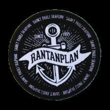 RANTANPLAN 'Anker' Aufnäher rund