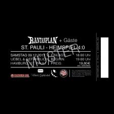 RANTANPLAN '09.12.2017' Hamburg Ticket