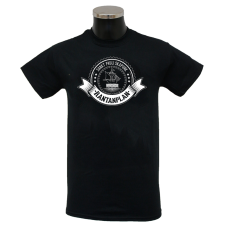 RANTANPLAN 'Schiff' T-Shirt black