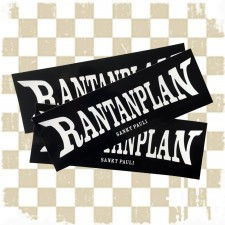 RANTANPLAN 'Logo' 3 Sticker