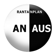 RANTANPLAN 'AN/AUS' Button