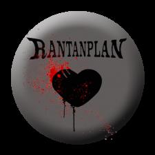 RANTANPLAN 'Licht und Schatten' Button grau