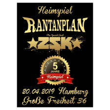 RANTANPLAN + ZSK ' 20.04.2019' Hamburg Ticket