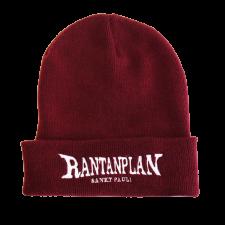 RANTANPLAN  'Logo' Beanie, burgund