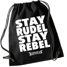RANTANPLAN 'Stay Rudel - Stay Rebel' Turnbeutel