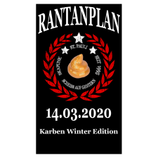 RANTANPLAN '25 Jahre Drauf Geschissen Tour' 14.03.2020 Karben Winter Edition Ticket