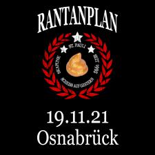 RANTANPLAN '25 Jahre Drauf Geschissen Tour' 19.11.2021 Osnabrück