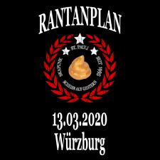 RANTANPLAN '25 Jahre Drauf Geschissen Tour' 13.03.2020 Würzburg