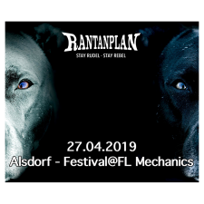 RANTANPLAN  - ALSDORF FESTIVAL @ FL MECHANICS 27.04.2019 Ticket