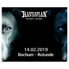 RANTANPLAN  - STAY RUDEL-STAY REBEL TOUR 14.02.2019' Bochum Ticket