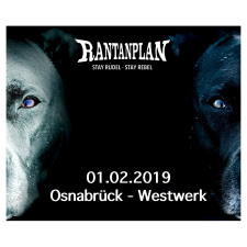 RANTANPLAN  - STAY RUDEL-STAY REBEL TOUR 01.02.2019' Osnabrück Ticket