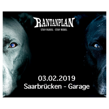 RANTANPLAN  - STAY RUDEL-STAY REBEL TOUR 03.02.2019' Saarbrücken Ticket