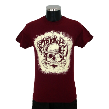 TEMPLETON PEK 'Skull' T-Shirt red