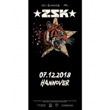 ZSK Eintrittskarte '07.12.18' Hannover'