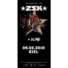 ZSK Eintrittskarte '09.02.19' Kiel