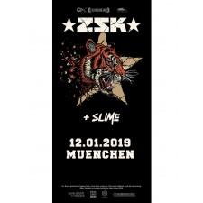 ZSK Eintrittskarte '12.01.19 München'
