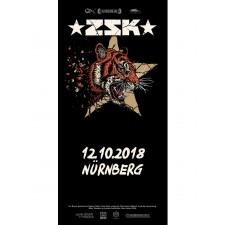 ZSK Eintrittskarte '12.10.18' Nürnberg'