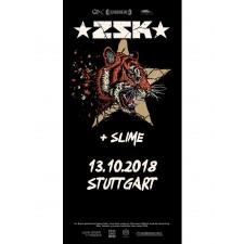 ZSK Eintrittskarte '13.10.18' Stuttgart'