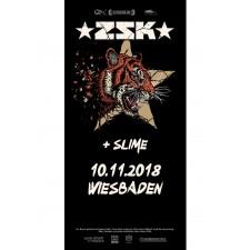 ZSK Eintrittskarte '10.11.18' Wiesbaden'