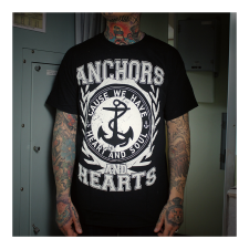 ANCHORS & HEARTS 'Anchors & Hearts' T-Shirt
