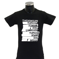 THE DETECTORS 'Action' T-Shirt schwarz