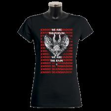 JOHNNY DEATHSHADOW 'Poison & Rain' Girlie-Shirt
