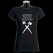 JOHNNY DEATHSHADOW 'Scissors' Girlie-Shirt