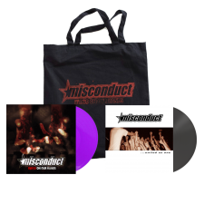 MISCONDUCT 'Blood On Your Hands' Vinyl Package