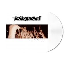 MISCONDUCT '... United As One' white Vinyl