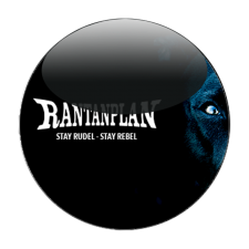 RANTANPLAN 'Stay Rudel - Stay Rebel schwarz' Button