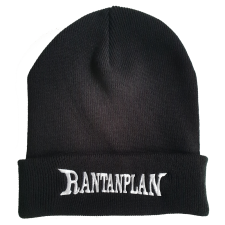 RANTANPLAN  'Logo' Beanie, schwarz