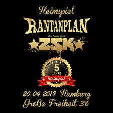 RANTANPLAN + ZSK ' 20.04.2019' Hamburg Ticket