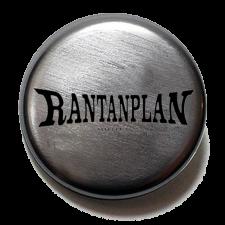 RANTANPLAN 'Logo' Button metallic