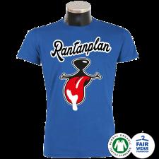 RANTANPLAN 'Ein Shirt namens Schnauze' T-Shirt blau