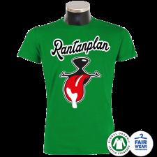 RANTANPLAN 'Ein Shirt namens Schnauze' T-Shirt grün