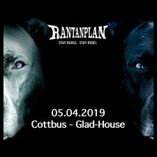 RANTANPLAN  - STAY RUDEL-STAY REBEL TOUR 05.04.2019' Cottbus Ticket