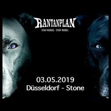 RANTANPLAN  - STAY RUDEL-STAY REBEL TOUR 03.05.2019 Düsseldorf Ticket