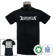 RANTANPLAN 'Stay Rudel Stay Rebel' T-Shirt