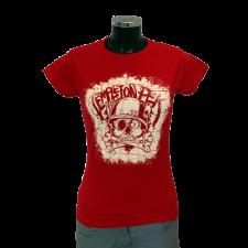TEMPLETON PEK 'Skull' Girlie red