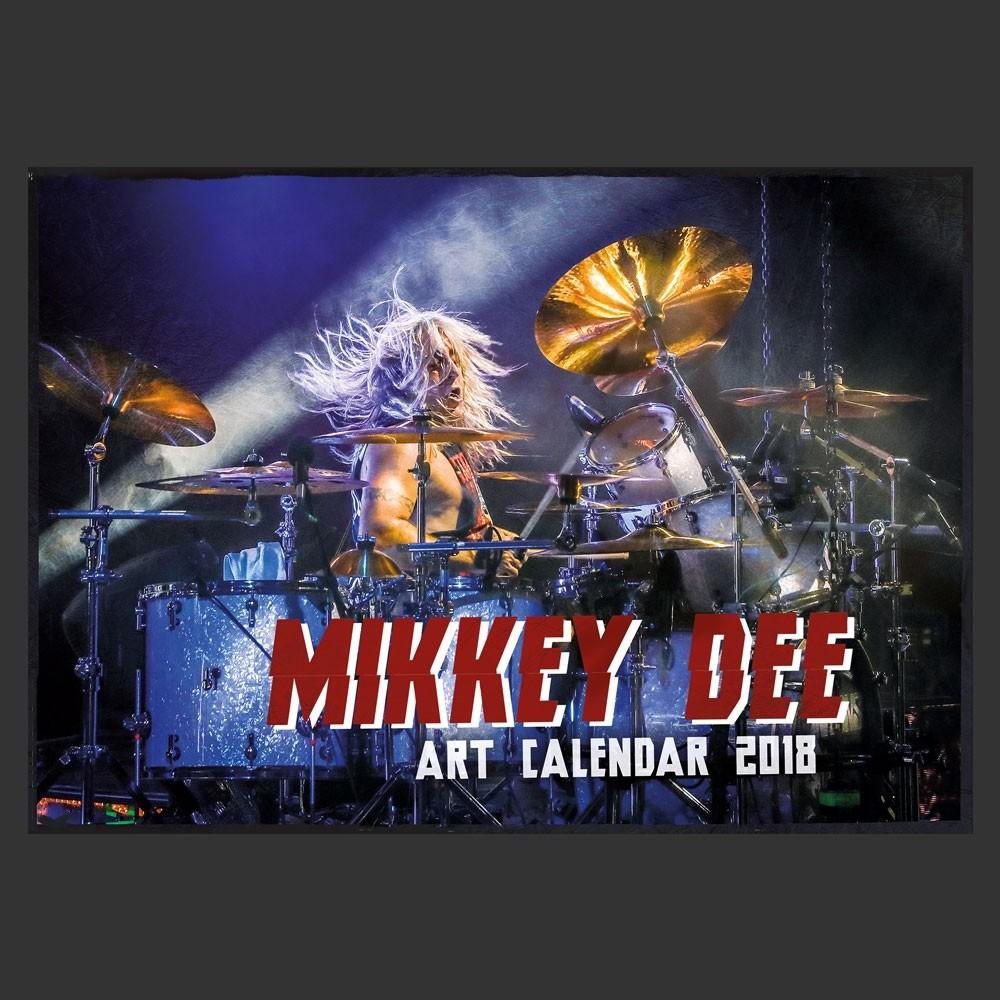 MIKKEY DEE - Art Calendar 2018