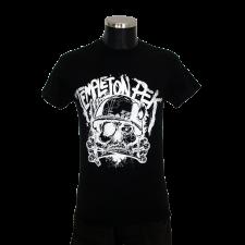 TEMPLETON PEK 'Skull' T-Shirt schwarz